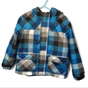 Cherokee Hooded Jacket 4T Winter Checkered